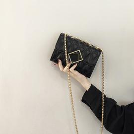 小ck包包女2020新款潮夏季百搭法国质感今年流行高级感链条斜挎包