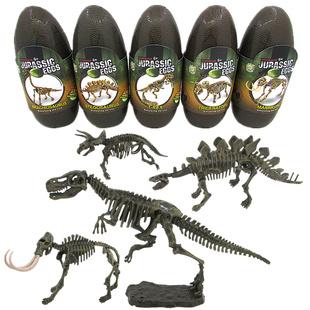 考古男孩拼装动物模型仿真模型玩具
