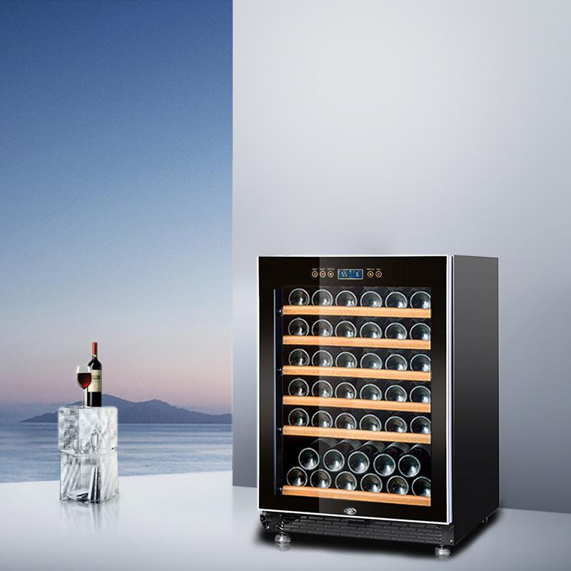 赛鑫 SRT-54 迷你家用恒温红酒柜 葡萄酒柜小型压缩机 冷藏柜冰吧