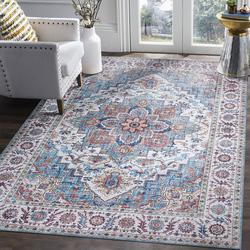 短绒复古欧式美式乡村波斯客厅地毯