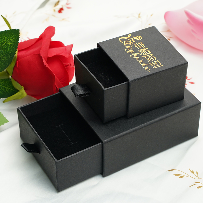 Happiness married to (jewelry) custom jewelry packing box necklace ring earrings drawer storage box