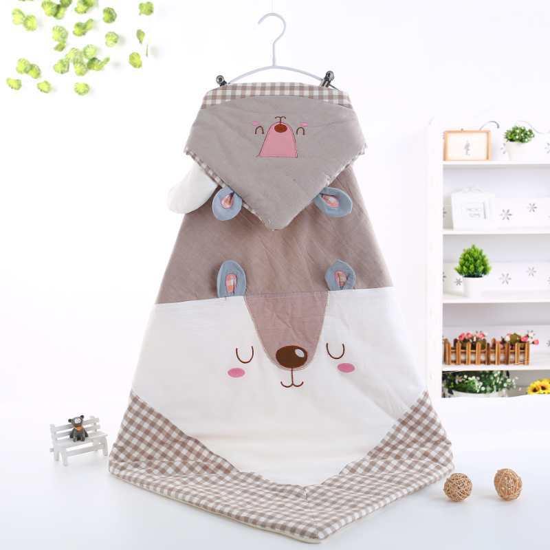 新生水洗棉抱被抱毯初生用品儿纯母婴用品睡袋2018婴儿棉