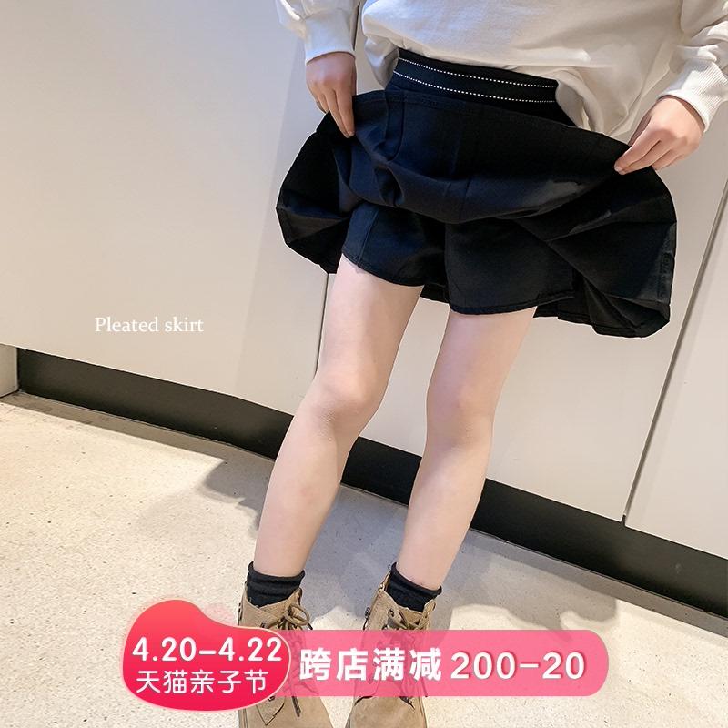 童装女童2021春秋新款日系范短裙子