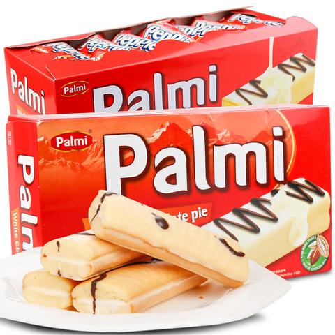 派迷palmi 进口白巧克力蛋糕派小吃零食点心休闲夹心好吃的小糕点