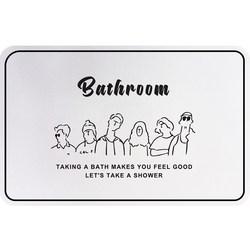 Diatom ooze bathroom door suction pads household contracted