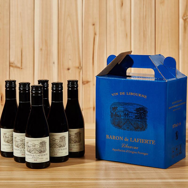 法国红酒原瓶原装进口拉斐迷你小瓶红...