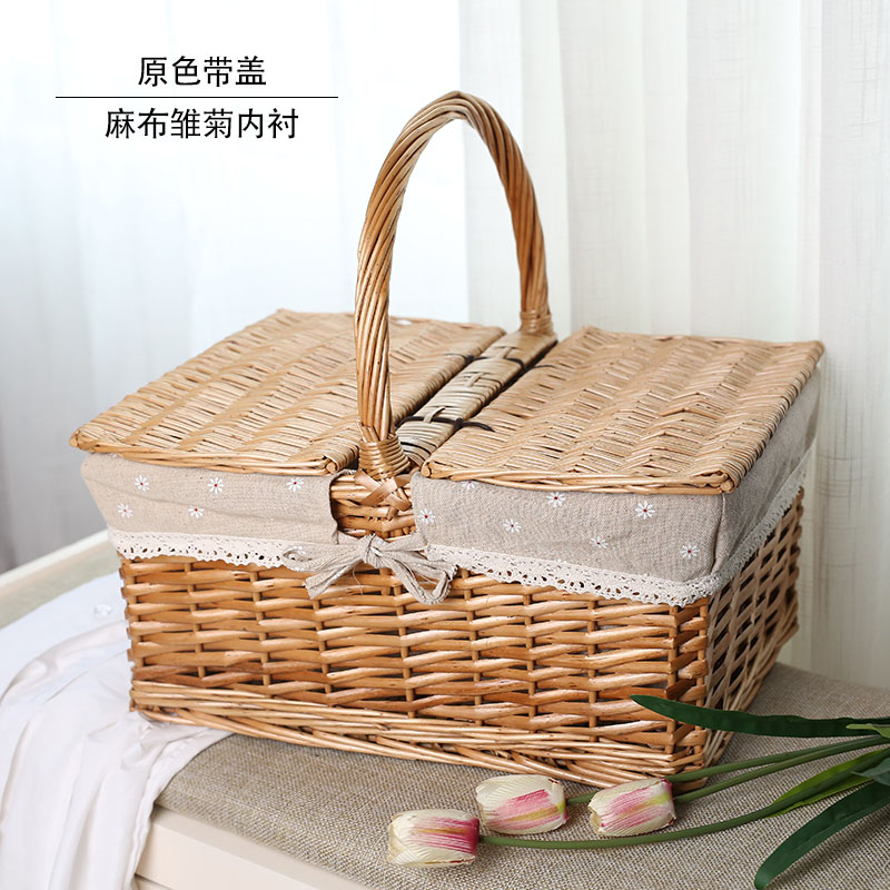 New trumpet, picnic basket, tiktok, fruit, durable gift, picnic, fresh and sweet outing