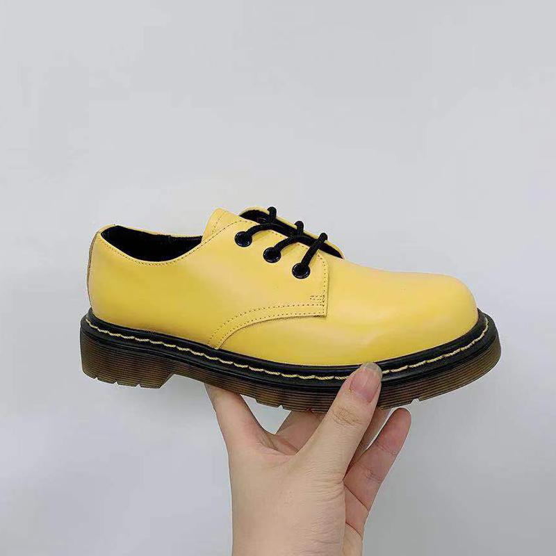 【5Gshop女鞋】2019新款英伦风系带简约低跟舒适时尚显气质单鞋