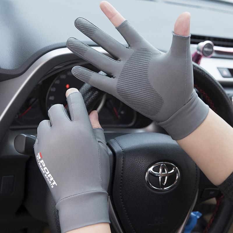 Мужские перчатки без пальцев Артикул 614411366899