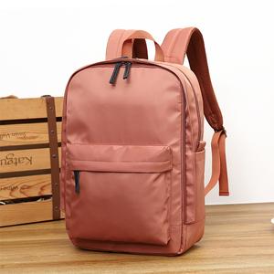 双肩包大学生书包旅游背包女士休闲旅行包轻便大容量15.6寸电脑包