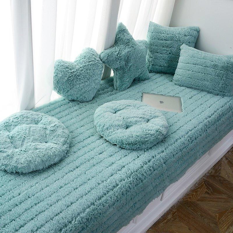 卧室地毯公主房床边小地毯家用毛毯满108.00元可用10.8元优惠券