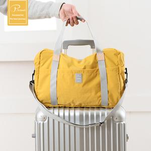 短途折叠旅行包可套拉杆箱出差登机包手提行李袋大容量轻便健身包
