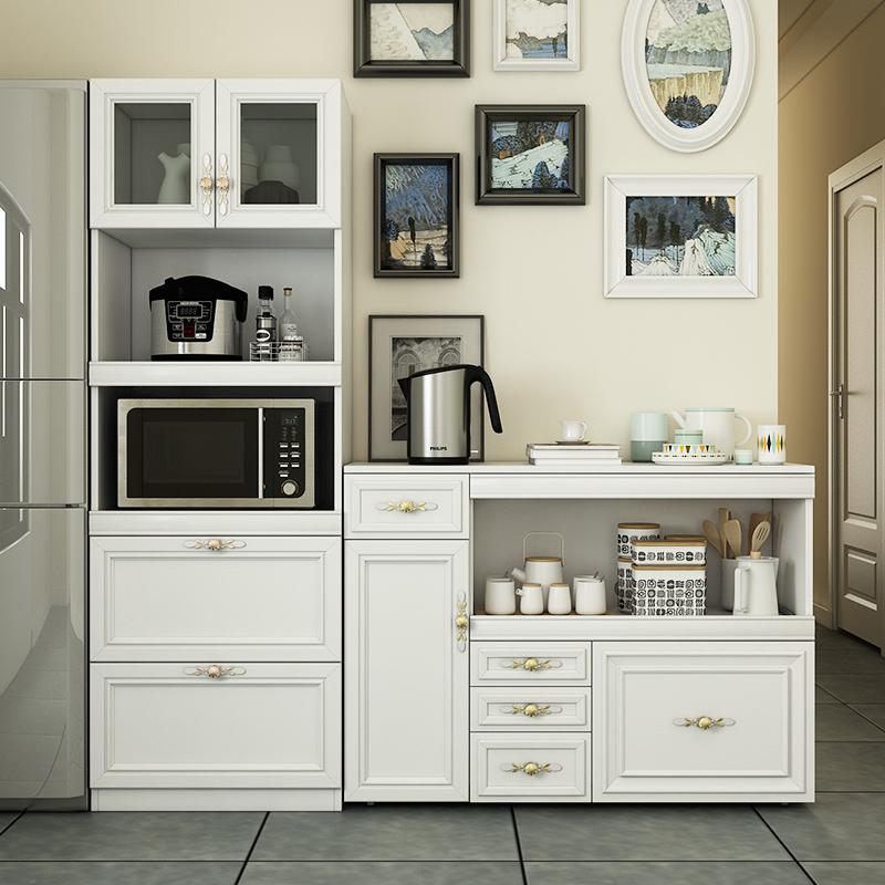 定制餐边柜北欧组合现代简约微波炉柜厨房收纳储物柜置物架茶水柜