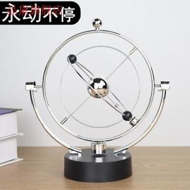 创意牛顿摆球永动机撞球碰碰球混沌摆件摇摆器办公桌面装饰品工艺