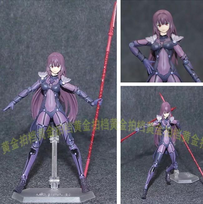 Fate/Grand Order 斯卡哈 figma381 Lancer 师匠 可动手办模型