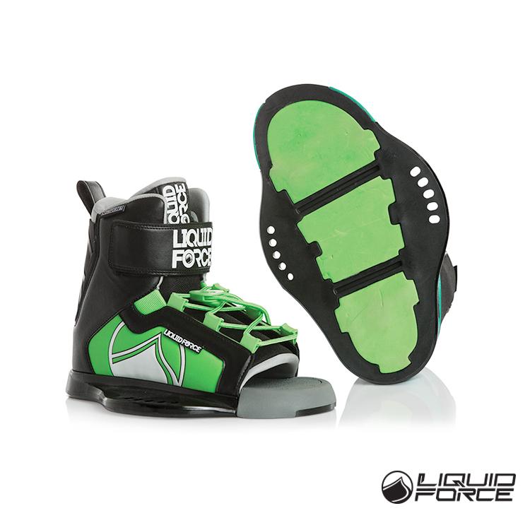 18 Соединенные Штаты Америки LIQUIDFORCE детские Младшая лыжная обувь RANT Water хвост волна панель Открывание лыжного фиксатора