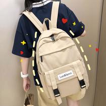 2020新款时尚ins风书包女韩版ulzzang高中大学生双肩包初中生背包