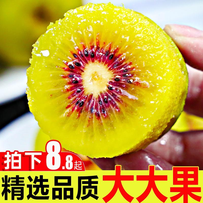 红心猕猴桃新鲜水果当季整箱包邮奇异果四川蒲江孕妇泥猴狝弥猴桃