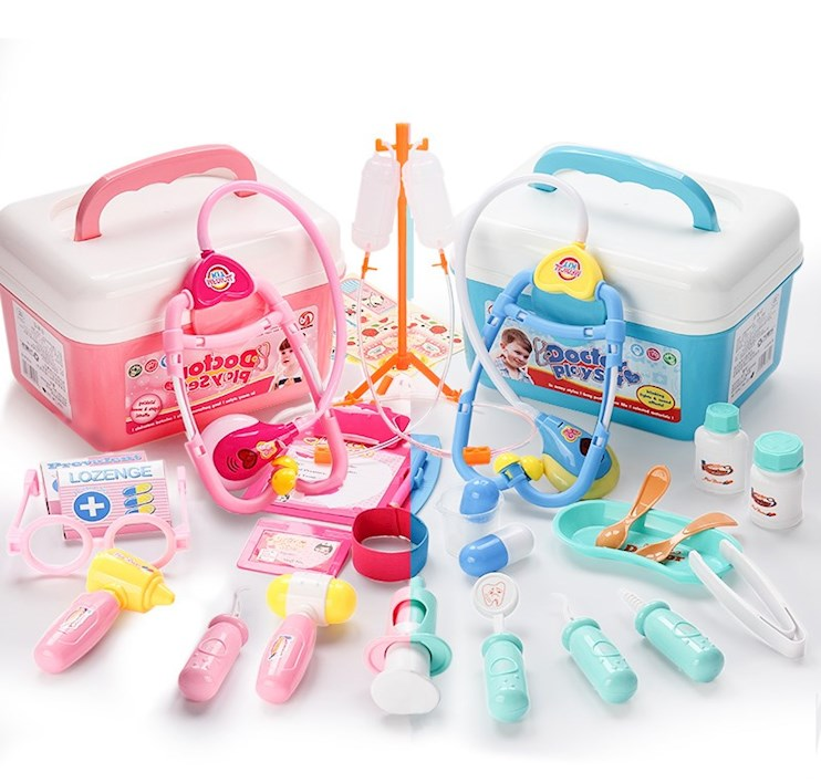 儿童医疗玩具套装小医生玩具套装医疗箱打针宝宝男孩儿童工具箱女