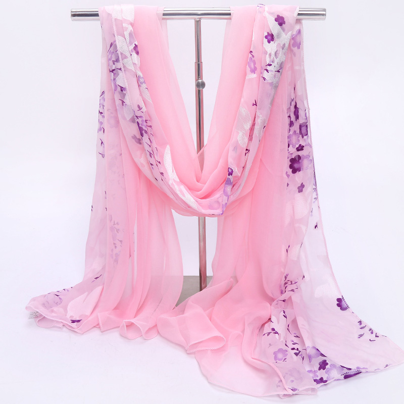 Hangzhou silk scarves, womens thin scarves, scarves, spring and autumn and winter, middle-aged moms all-around fashion