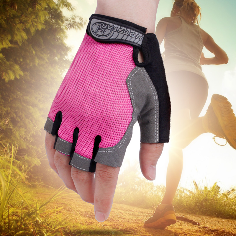Sports gloves mens fitness gloves Half Finger womens thin summer outdoor mountaineering and cycling equipment training antiskid ventilation