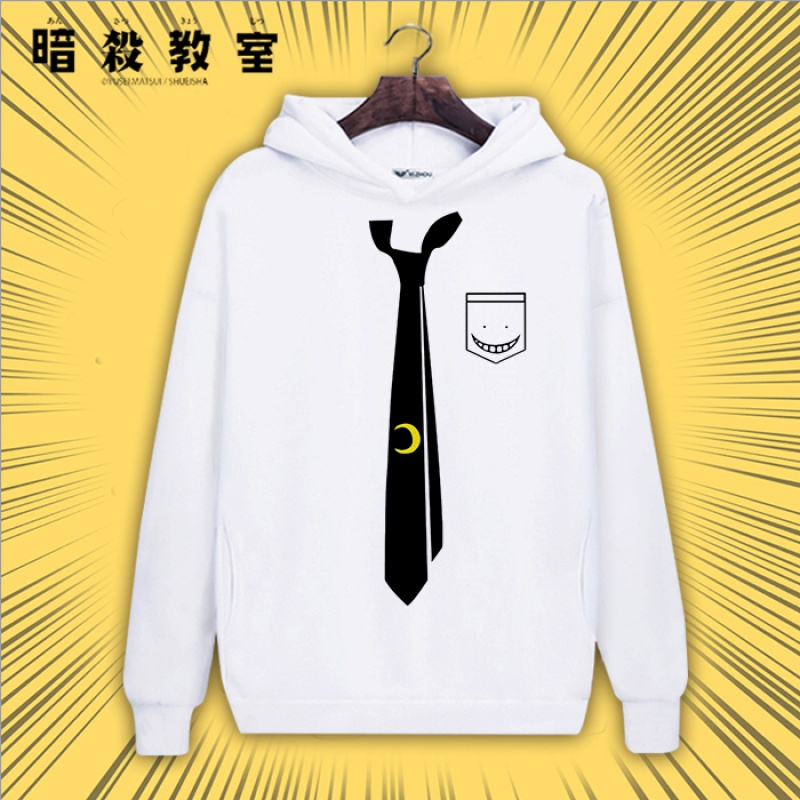 Assassinate classroom coat kill teacher anime sweater hooded autumn and winter men and women two dimensional T-shirt clothing peripheral clothing