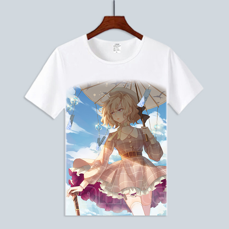 Fictional reasoning surrounding yanyongqinzi sakuragawa Jiulang short sleeve T-shirt animation boys and girls cute clothes summer