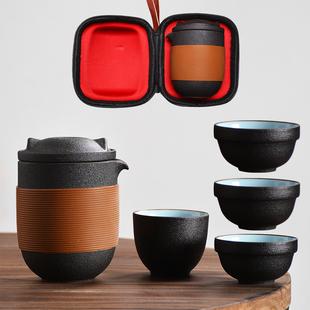 旅行茶具套装便携式包一壶二四杯快客杯车载功夫户外随身游泡茶壶品牌