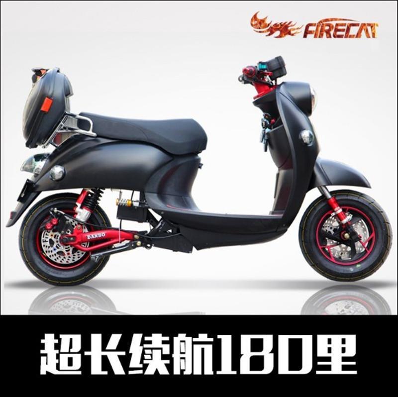 。改装三代电动车电摩托车60V72V小龟王电瓶车成人女踏板车小绵羊