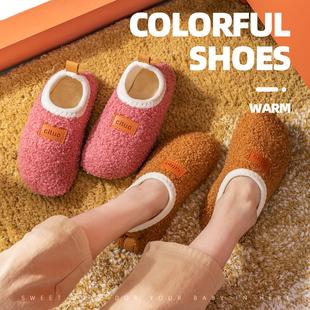 宝宝防滑底加厚秋冬新款 加绒儿童男女地板袜鞋 婴儿室内袜子鞋