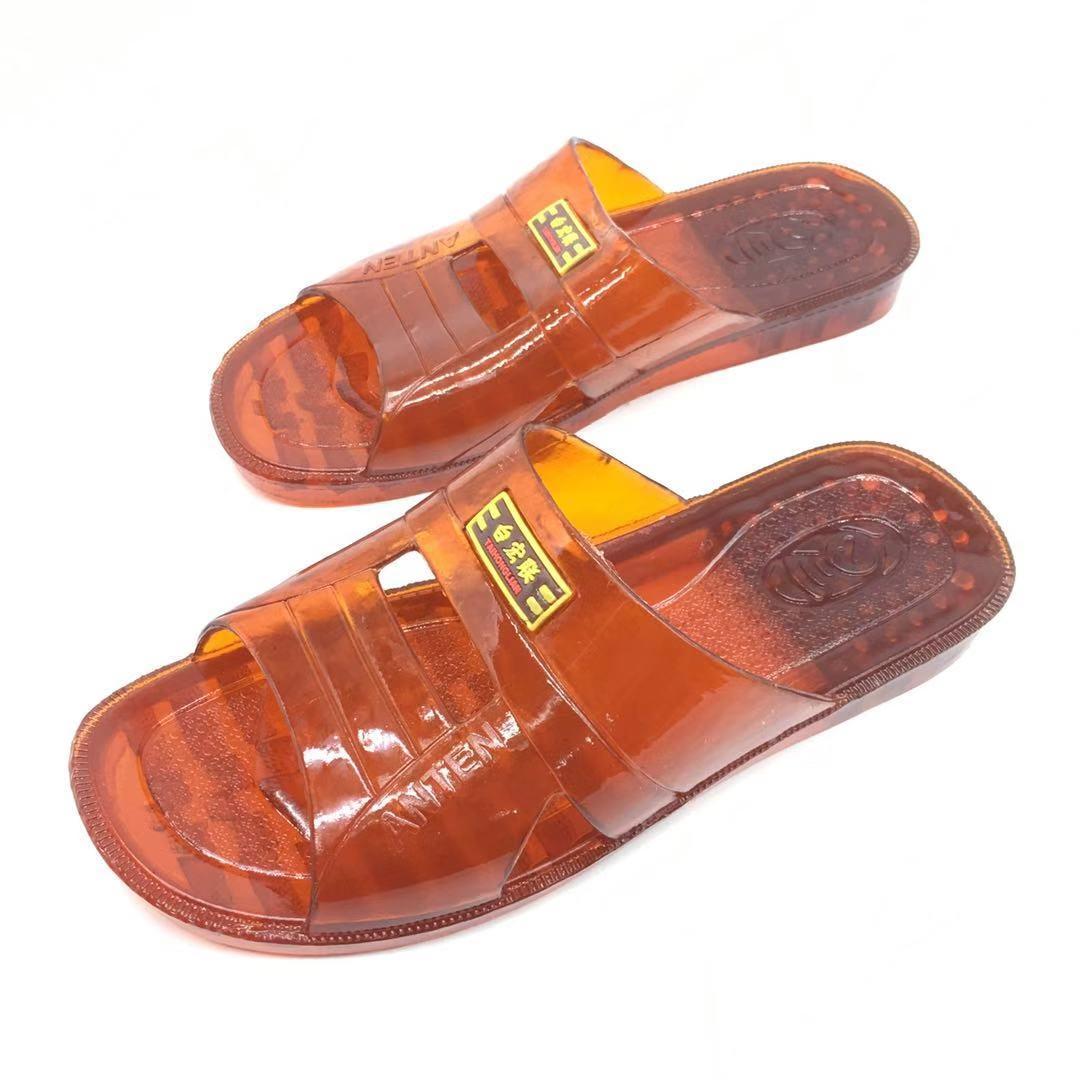 男牛筋拖鞋不臭脚夏季家居防滑防臭牛筋浴室拖鞋居家拖鞋厚底拖鞋