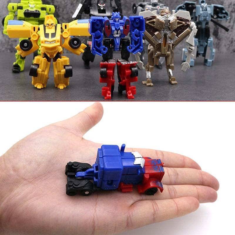 变形金刚天柱无限玩具儿童机器人正版迷你汽车人擎天柱大黄蜂卢克23.00元包邮