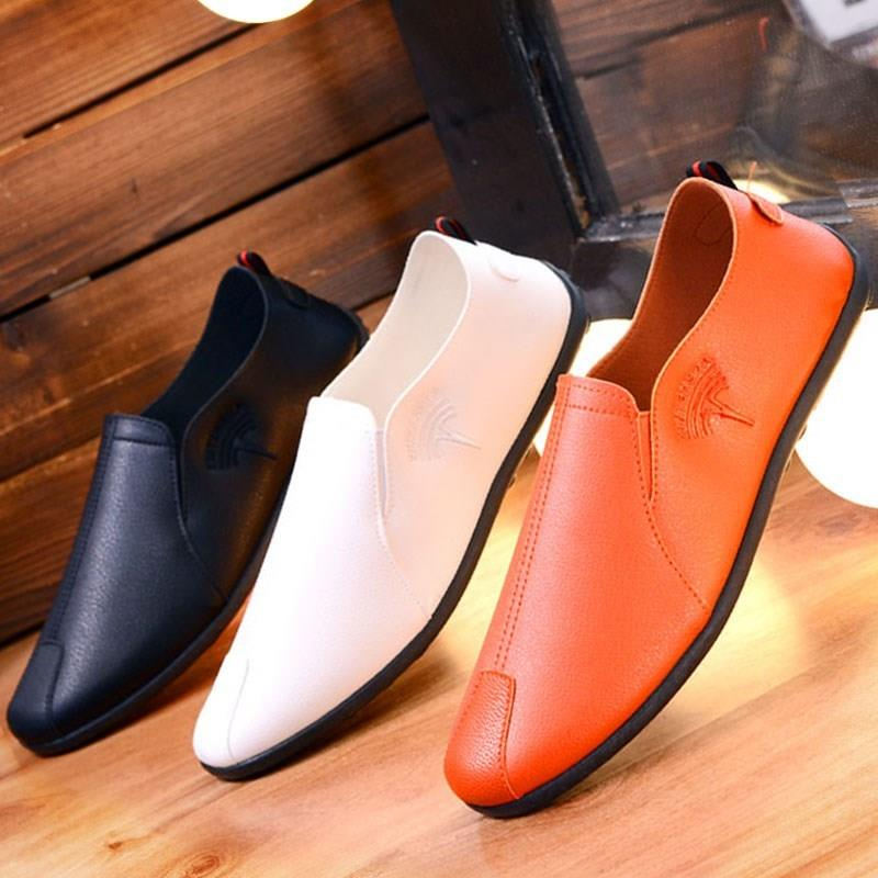 。 Doudou shoes mens medium size white mens shoes shoes summer ultra thin mens outdoor classic style travel European goods little man