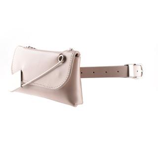 时尚百搭多用途女士外套装饰腰带ins风小腰包斜挎包手拿包PU皮带