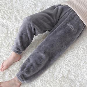 暖暖裤冬季加绒宝宝保暖裤女童裤子