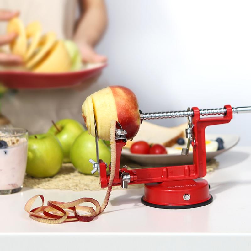 削皮机多功能家用刨皮刀水果手摇削苹果削皮器剥皮去皮自动切片器