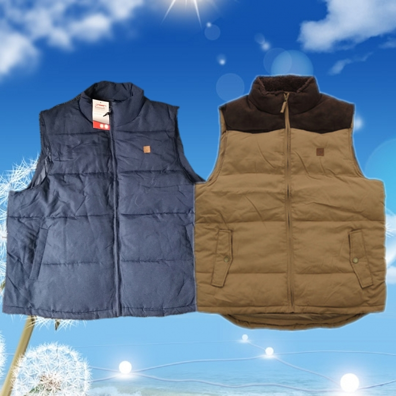 Thickened warm autumn and winter cotton vest mens special super fat oversized fat man cotton vest 120-140 bust