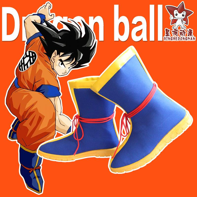 Seven dragon ball cos clothing seven dragon ball Monkey King cos shoes Wukong Cosplay boots in stock