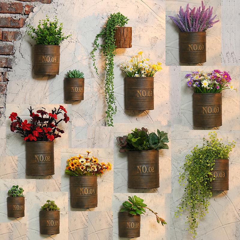 复古创意工业风餐厅饭店墙体墙面墙上墙壁装修装图片