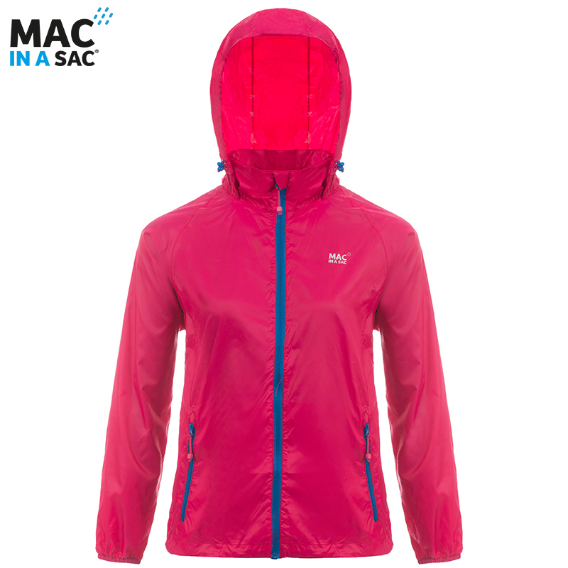 Macinasac mens and womens outdoor new ultra lightweight windproof sports quick dry Breathable rainproof coat