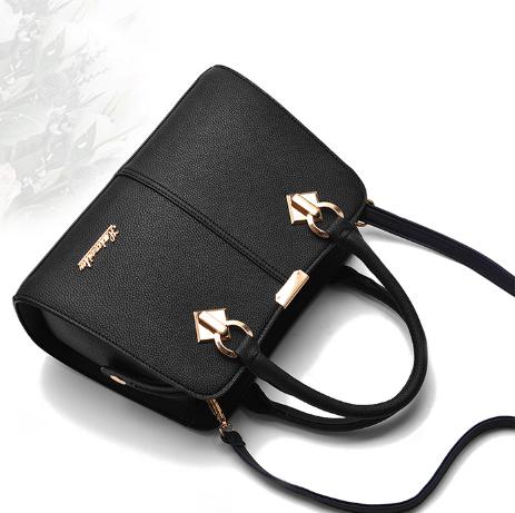 New middle-aged womens bag simple womens handbag medium bag diagonal backpack big mothers bag Single Shoulder Messenger Bag
