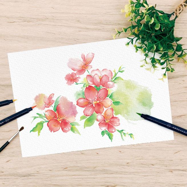 Рисунки акварелью Артикул 643956415817