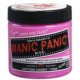 Manic Panic Semi-Permanent Hair Color Cream, Cotton Candy P