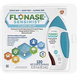Flonase Sensimist Allergy Relief Nasal Spray, 120 Count