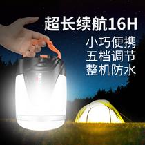 强光帐篷灯可充电超亮户外照明灯野外营地灯野营露营灯LED北山狼