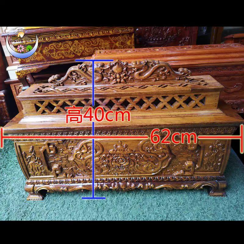 西藏特色手工艺木质卧式大香薰香炉 藏式酒店吉祥摆件佛教熏香炉