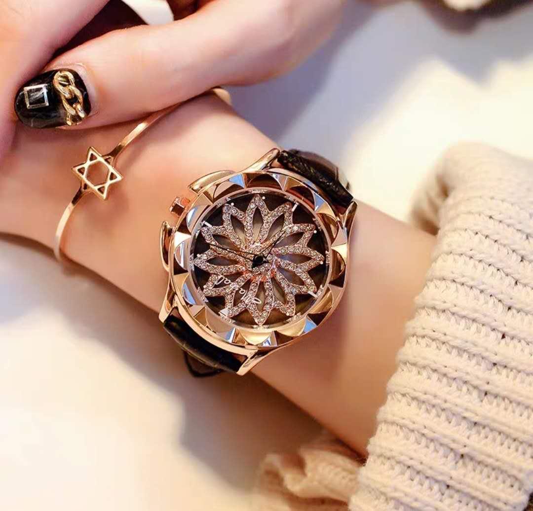 玛莎莉时来运转手表时尚石英表女表国产腕表学生女简约手表韩版