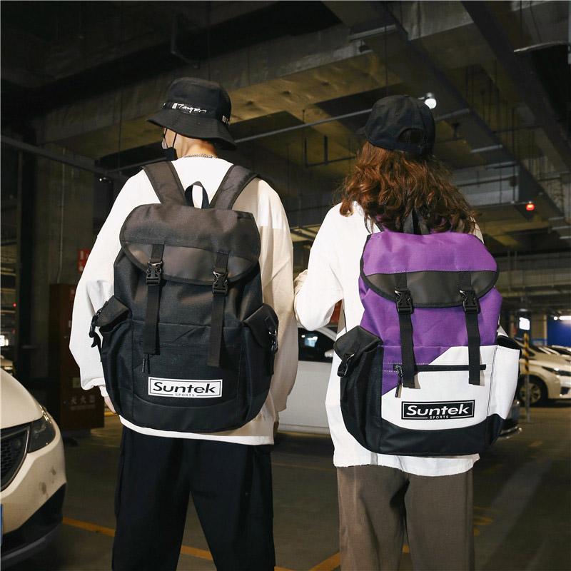大容量登山双肩包 户外防水轻便超轻女旅游运动牛津布25升男背包