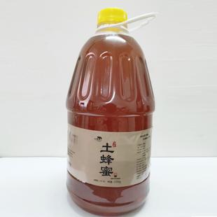 5斤装 大瓶无添加纯蜂蜜纯正天然农家自产土蜂蜜百花正品 蜂蜜2500g