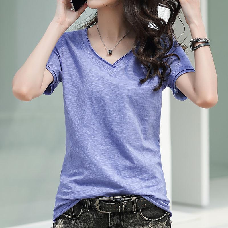 纯棉女短袖夏季韩版宽松纯色潮t恤质量怎么样